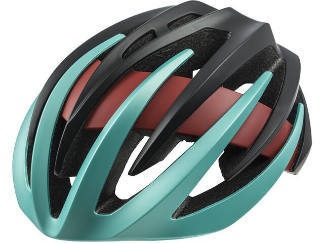 ORBEA R 50 Cykelhjelm sort/turkis (2019) | Helmets